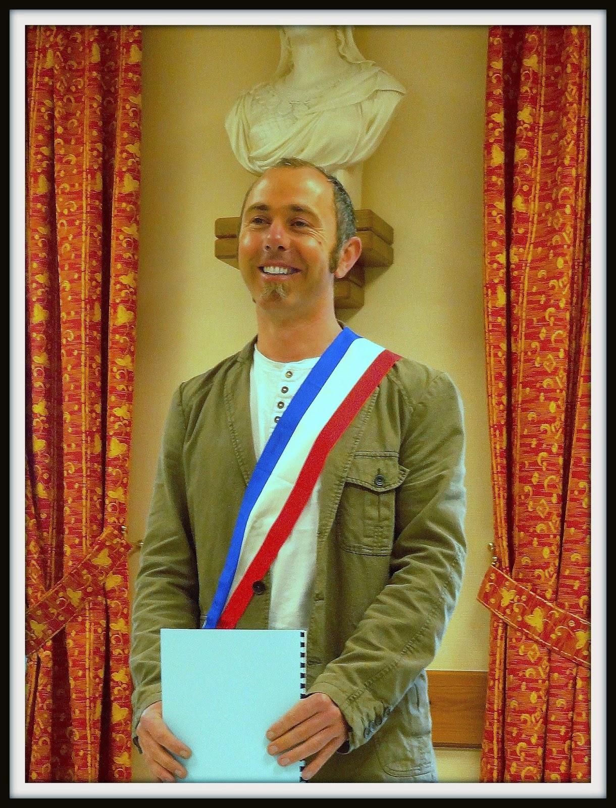 Nicolas Debray un maire de famille Festival du Bitume et des plumes